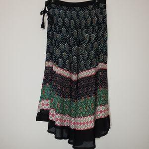 Uniti Drawstring Skirt 50% Cotton 40% Rayon